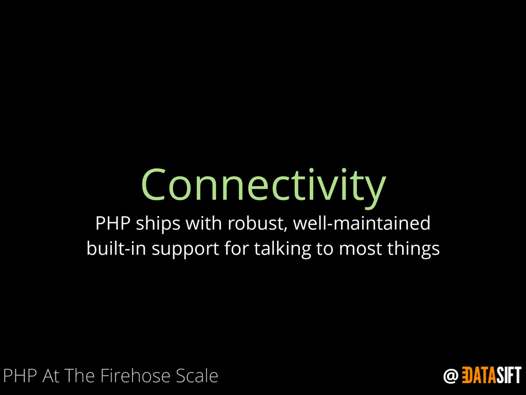 @ Connectivity PHP ships with robust, well-main...