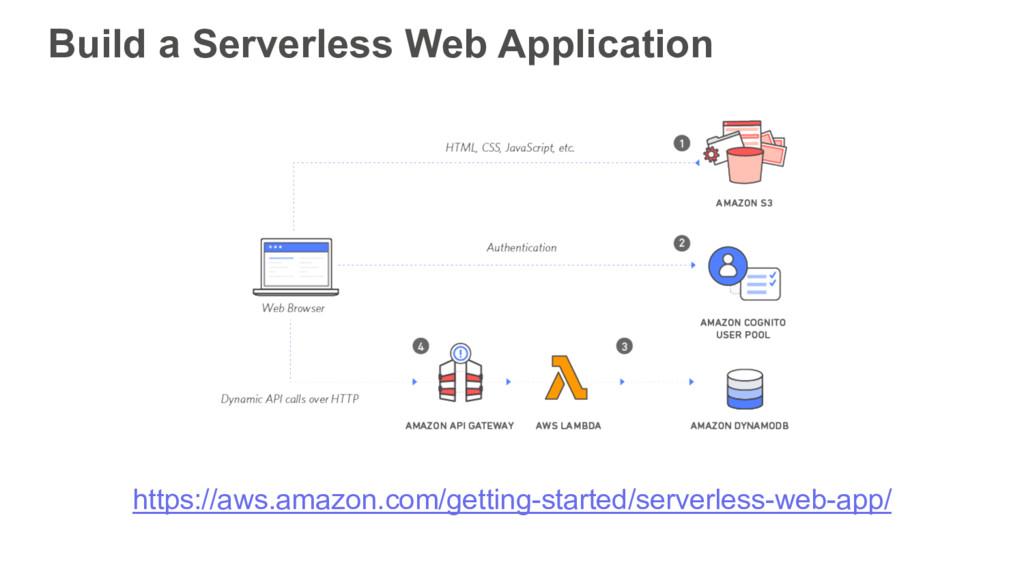 Build a Serverless Web Application https://aws....