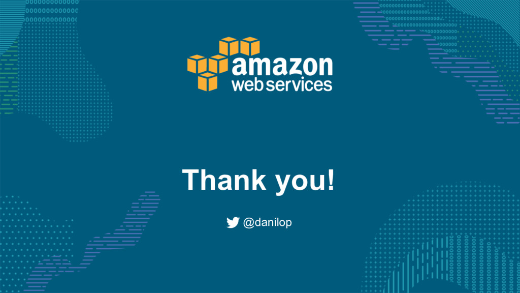 Thank you! @danilop