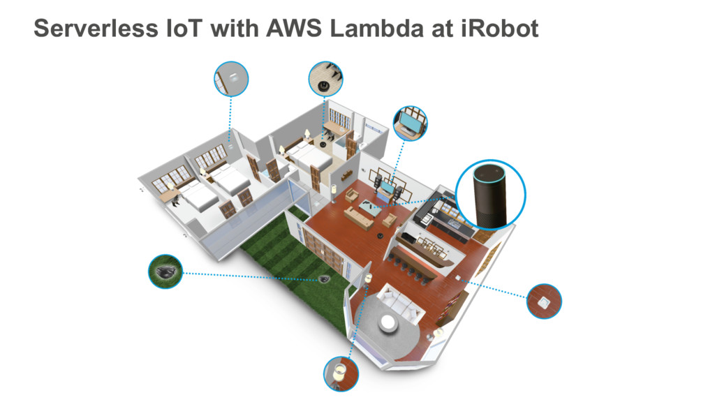 Serverless IoT with AWS Lambda at iRobot
