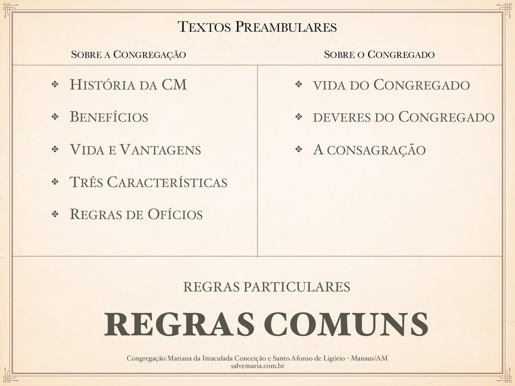 HISTÓRIA DA CM BENEFÍCIOS VIDA E VANTAGENS TRÊS...