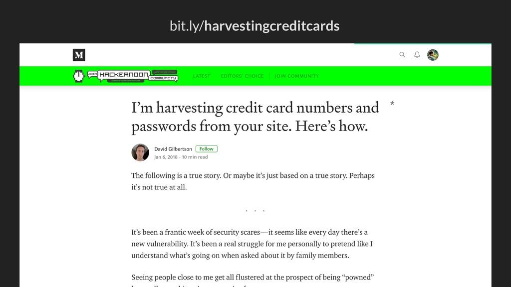 bit.ly/harvestingcreditcards