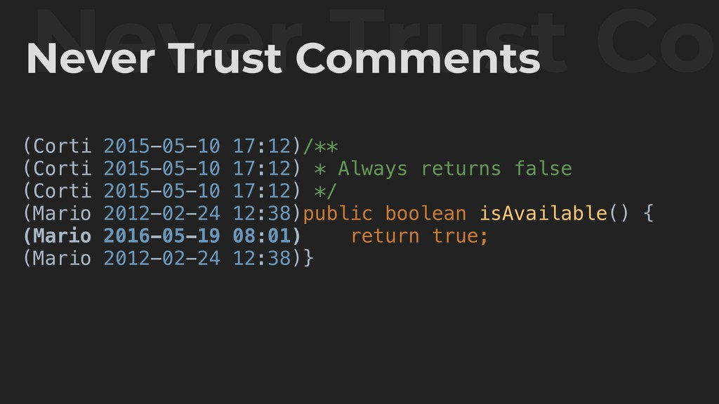 Never Trust Com Never Trust Comments (Corti 201...