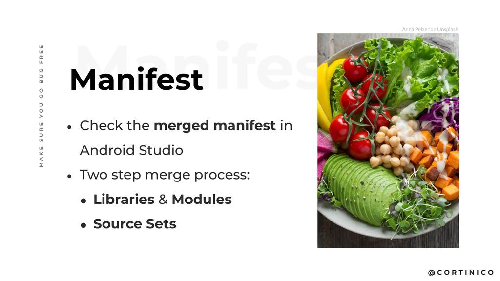@ C O R T I N I C O Manifest Manifest M A K E S...