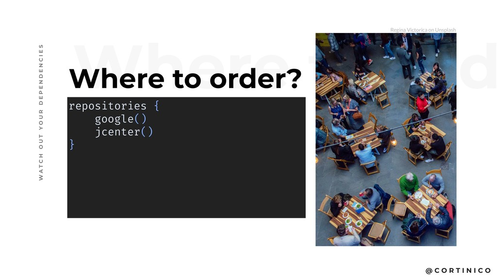 @ C O R T I N I C O Where to ord Where to order...