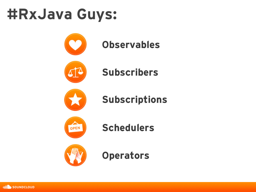 Observables Subscribers Subscriptions Scheduler...