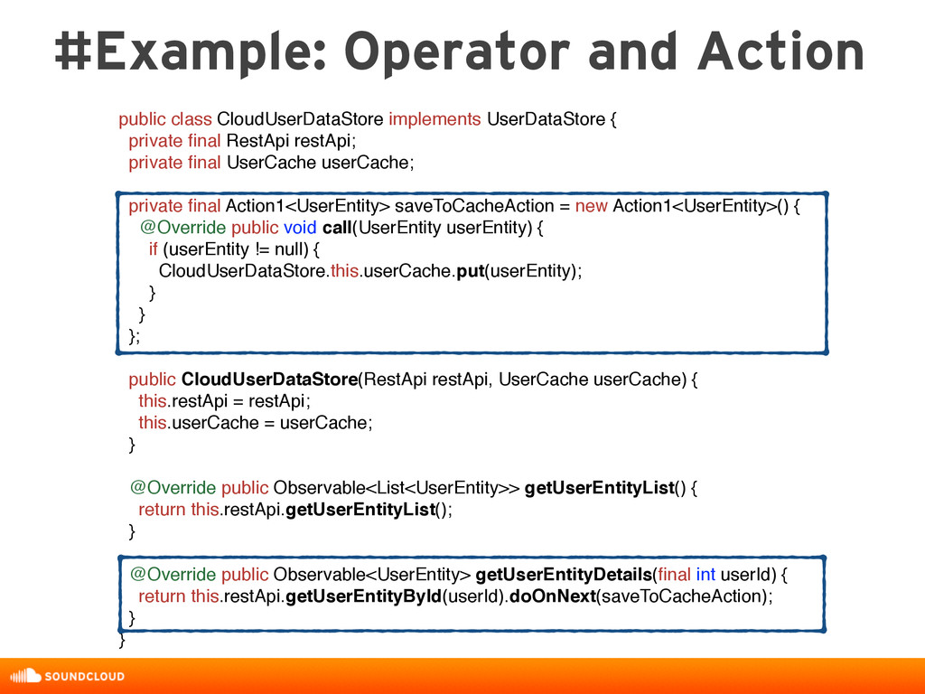 #Example: Operator and Action public class Clou...