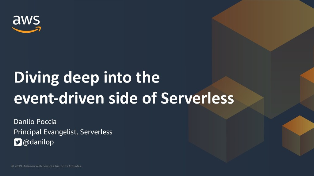 Diving deep into the event-driven side of Serverless