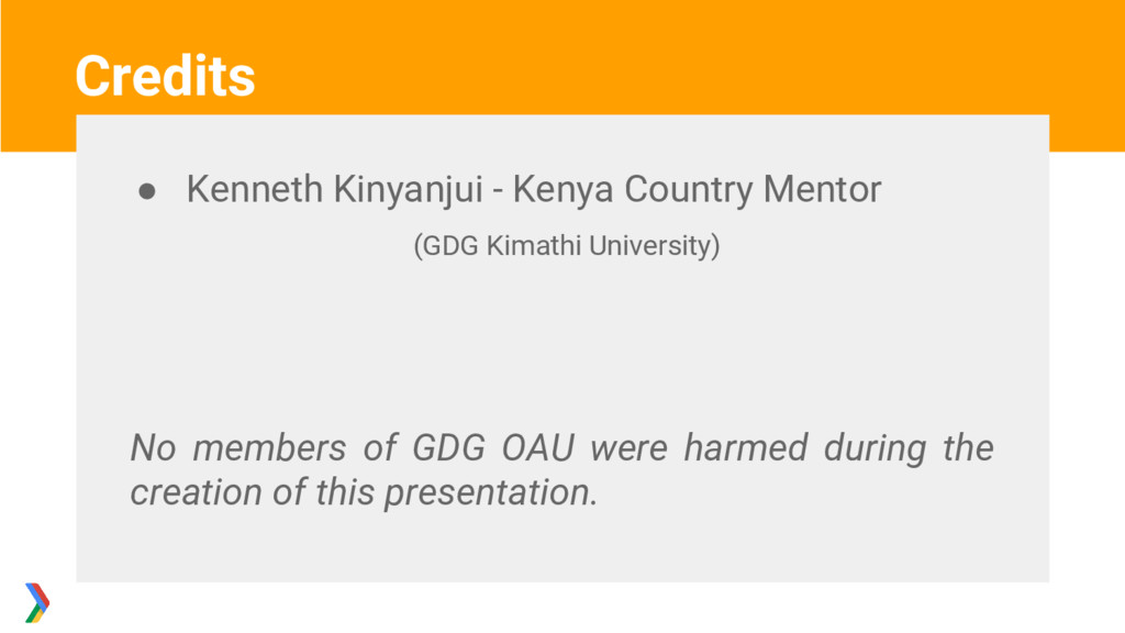 ● Kenneth Kinyanjui - Kenya Country Mentor (GDG...