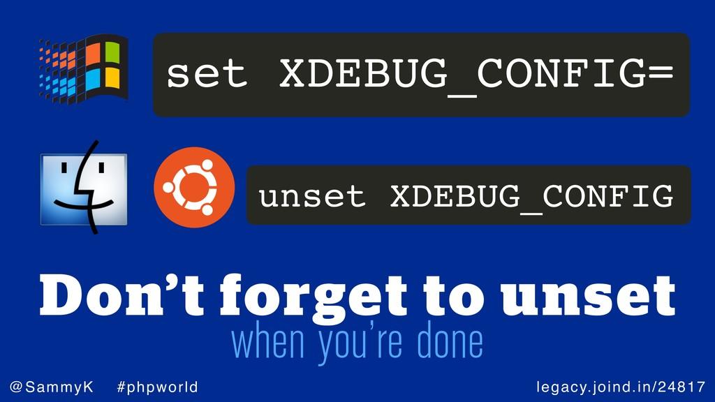 legacy.joind.in/24817 @SammyK #phpworld Don't f...