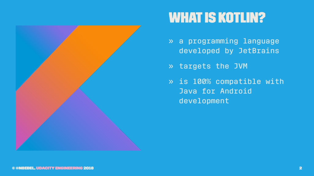 What Is Kotlin? » a programming language develo...