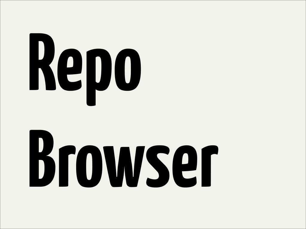 Repo Browser