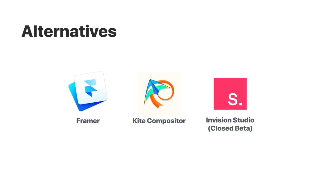 Framer Kite Compositor Invision Studio (Closed ...
