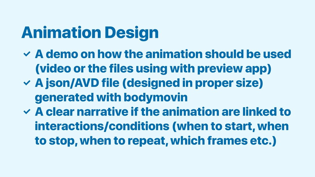 ✓ A demo on how the animation should be used (v...