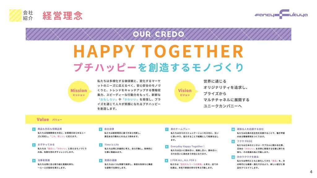 経営理念 会社 紹介 4