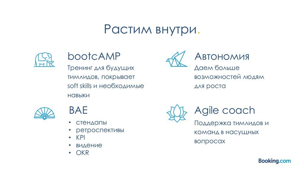 Растим внутри. bootcAMP Тренинг для будущих тим...