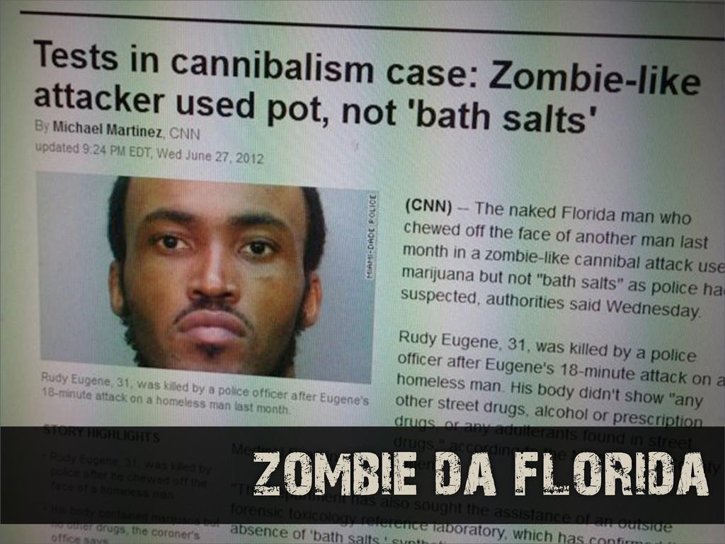 zombie da florida