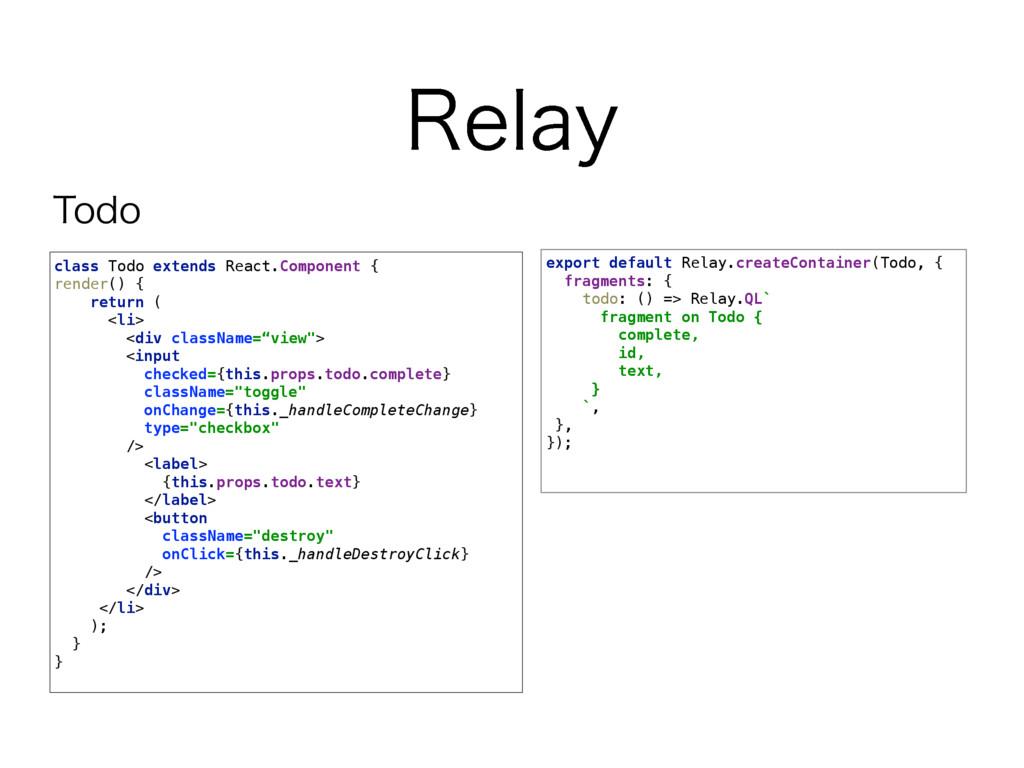 3FMBZ export default Relay.createContainer(Todo...