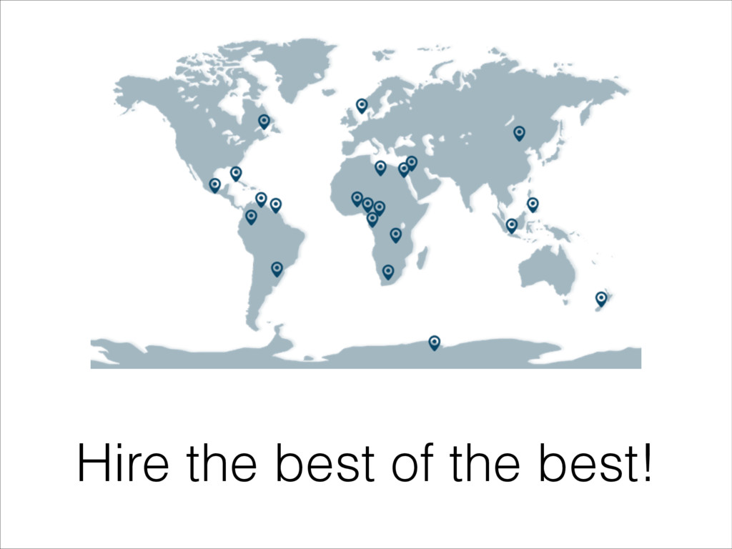 Hire the best of the best!