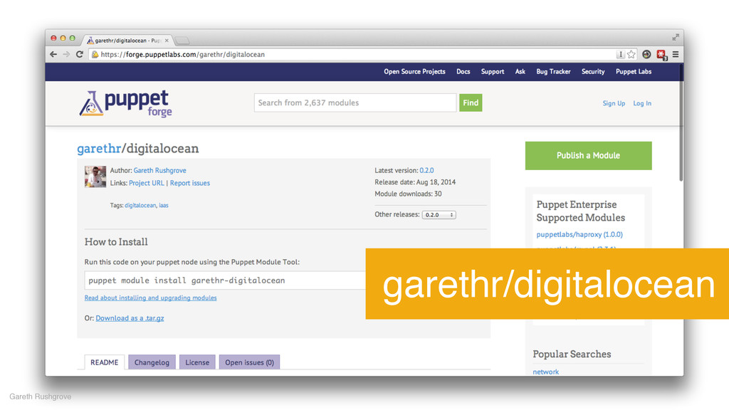 garethr/digitalocean Gareth Rushgrove