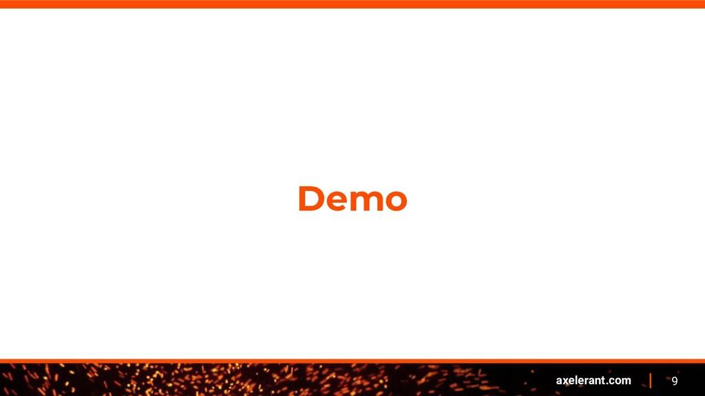 9 axelerant.com Demo