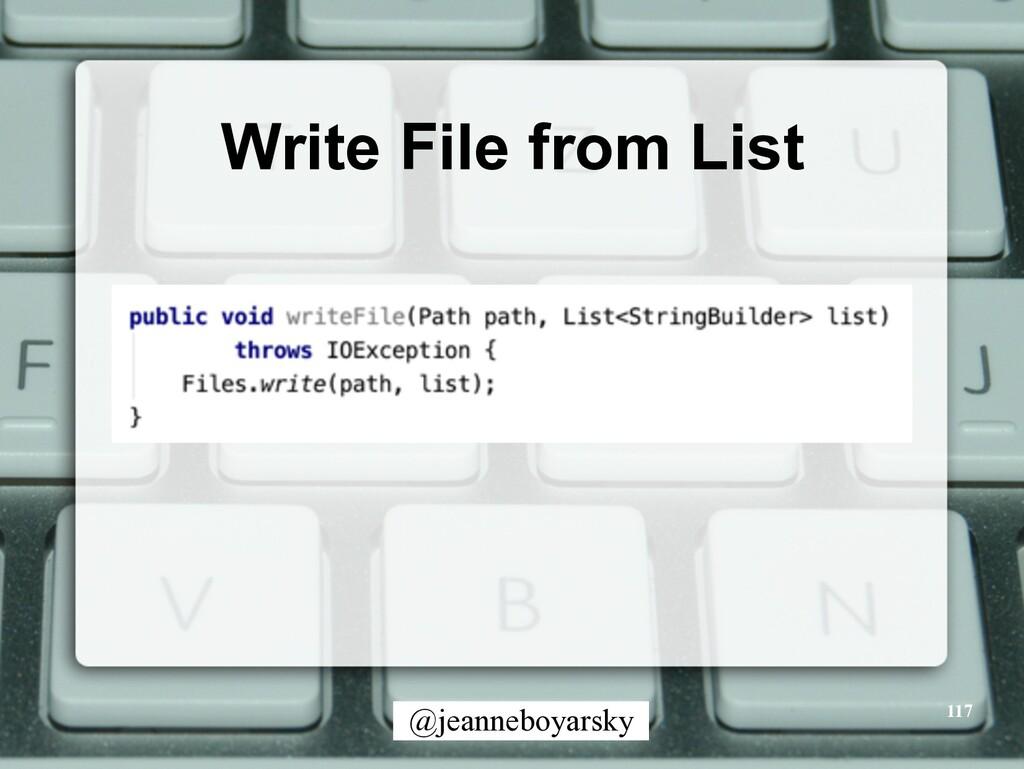 @jeanneboyarsky Write File from List 117
