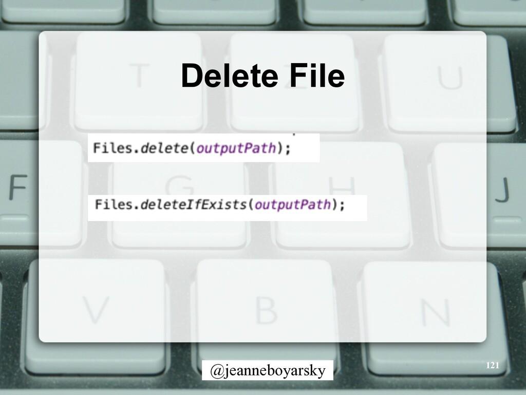 @jeanneboyarsky Delete File 121