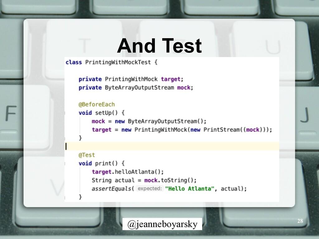 @jeanneboyarsky And Test 28