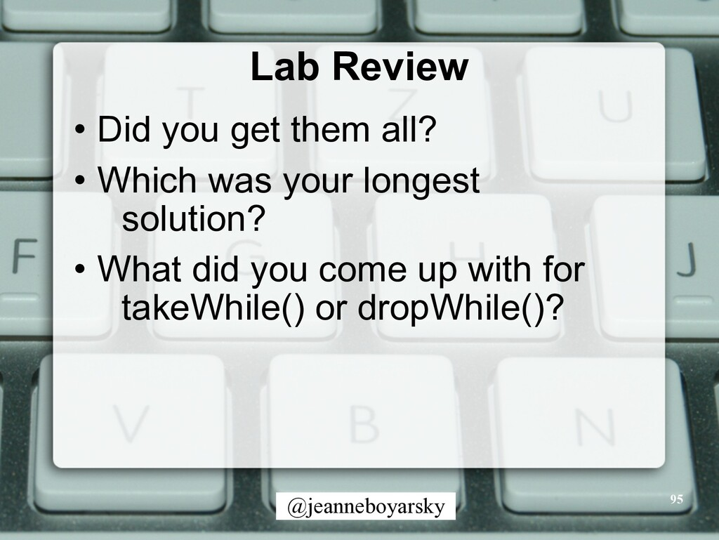 @jeanneboyarsky Lab Review • Did you get them a...