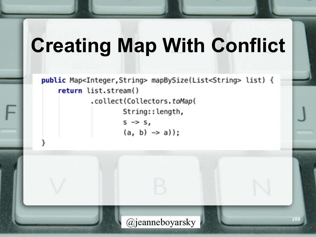 @jeanneboyarsky Creating Map With Conflict 100