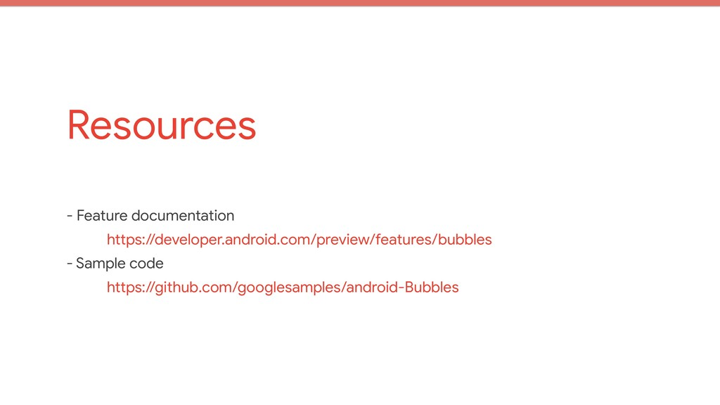 Resources - Feature documentation  https://deve...