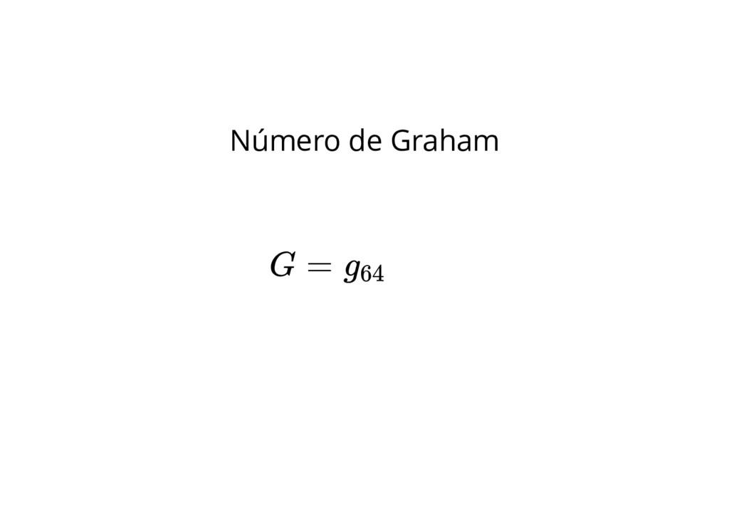 Número de Graham G = g64