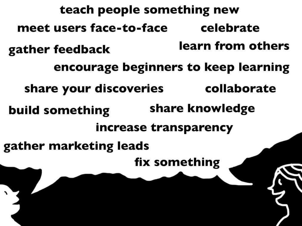 teach people something new gather marketing lea...
