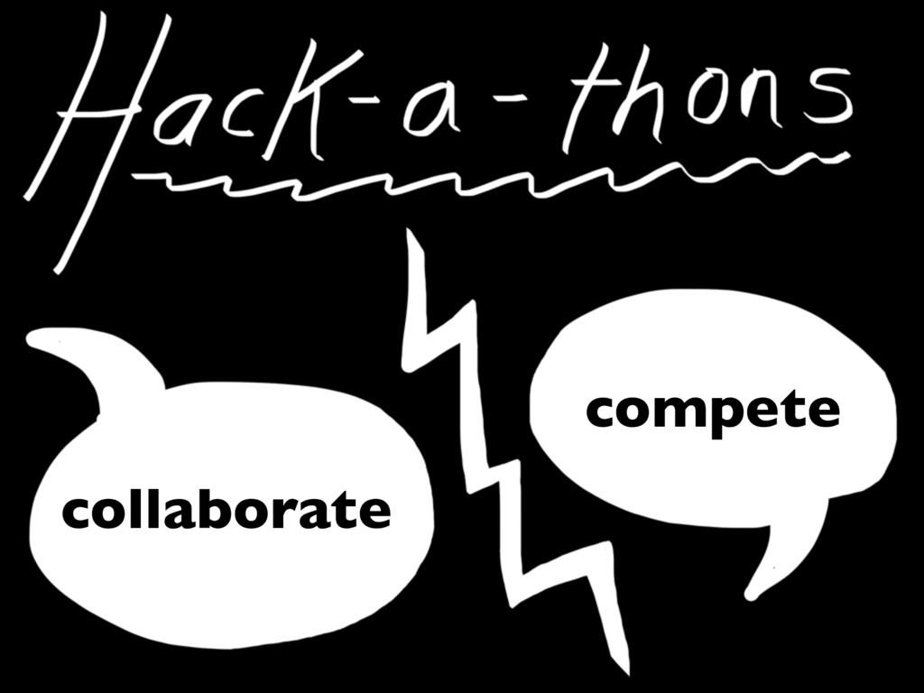 collaborate compete