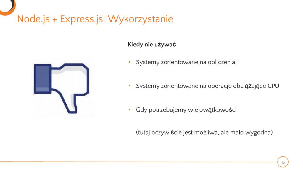 Node.js + Express.js: Wykorzystanie 15 Kiedy ni...