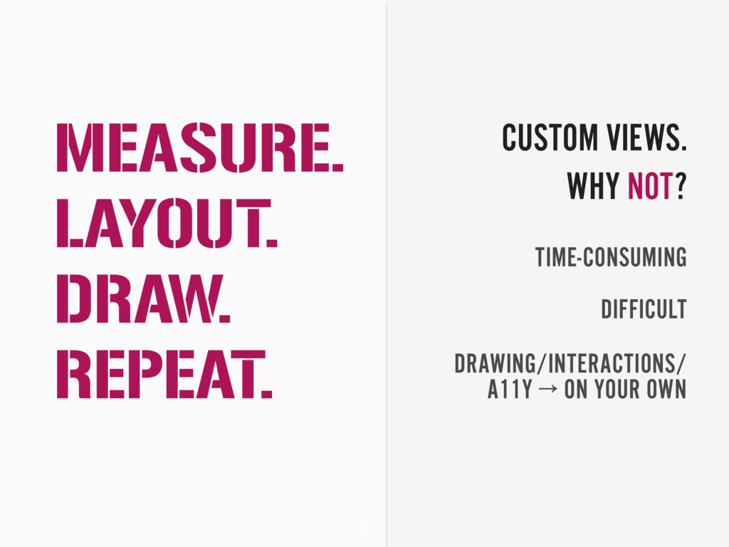 3 DIFFICULT TIME-CONSUMING DRAWING/INTERACTIONS...