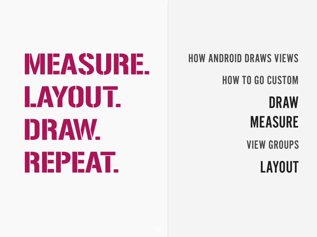 4 HOW ANDROID DRAWS VIEWS HOW TO GO CUSTOM DRAW...