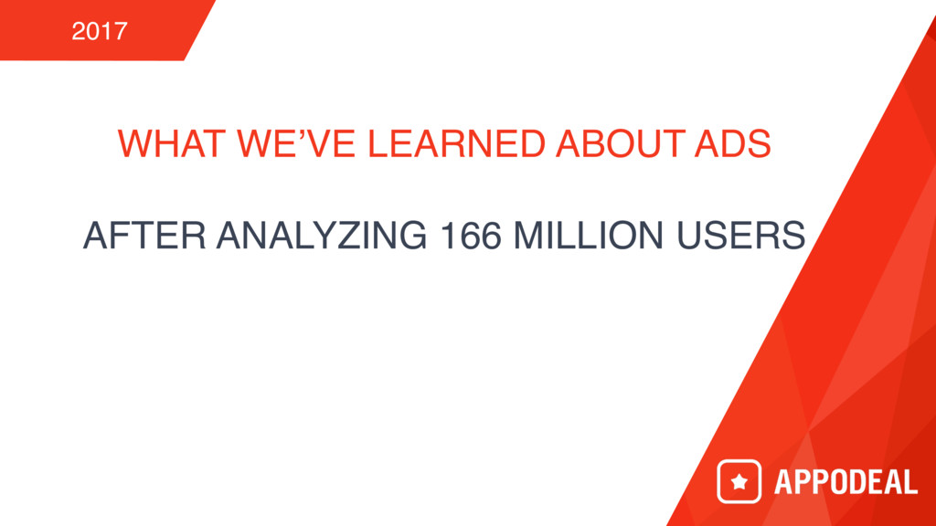 WHAT WE'VE LEARNED ABOUT ADS AFTER ANALYZING 16...