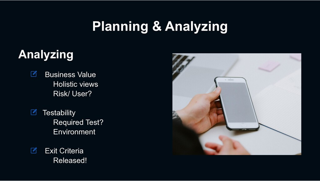 Planning & Analyzing Analyzing Business Value H...