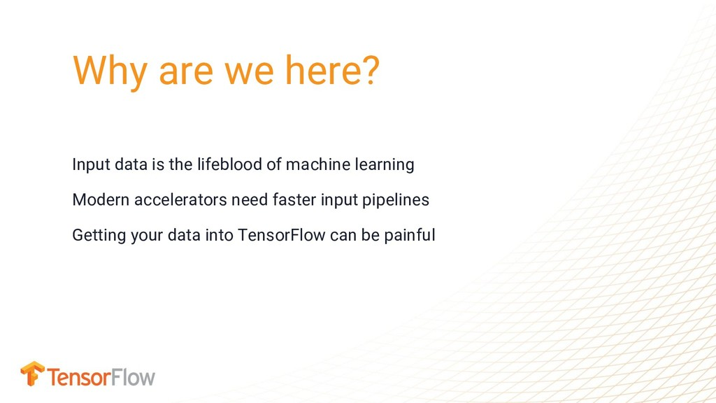 Input data is the lifeblood of machine learning...