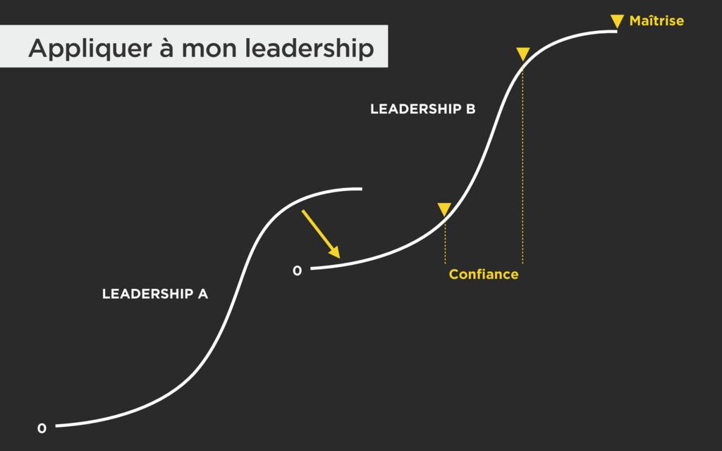 0 LEADERSHIP A LEADERSHIP B Maîtrise 0 Confianc...