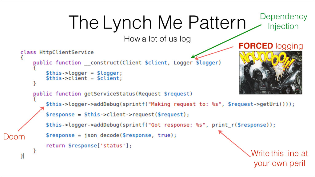 The Lynch Me Pattern Write this line at your ow...