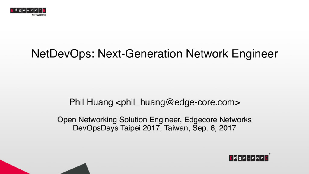 NetDevOps: Next-Generation Network Engineer Phi...