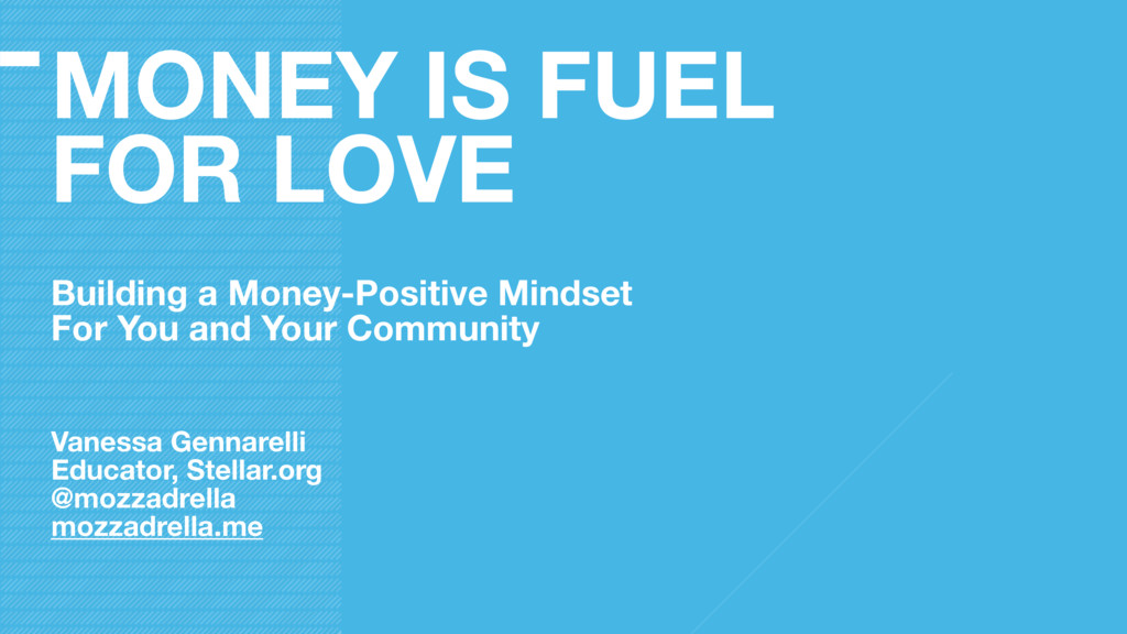 MONEY IS FUEL FOR LOVE Building a Money-Positiv...