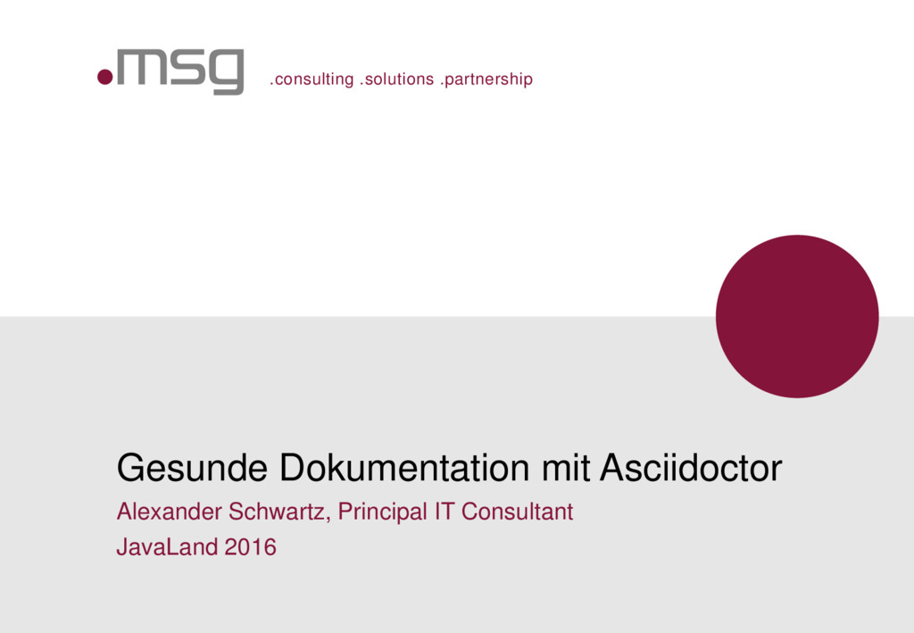 .consulting .solutions .partnership Gesunde Dok...