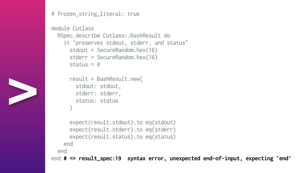 > # frozen_string_literal: true   module Cutlas...