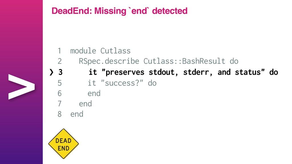 > 1 module Cutlass   2 RSpec.describe Cutlass::...