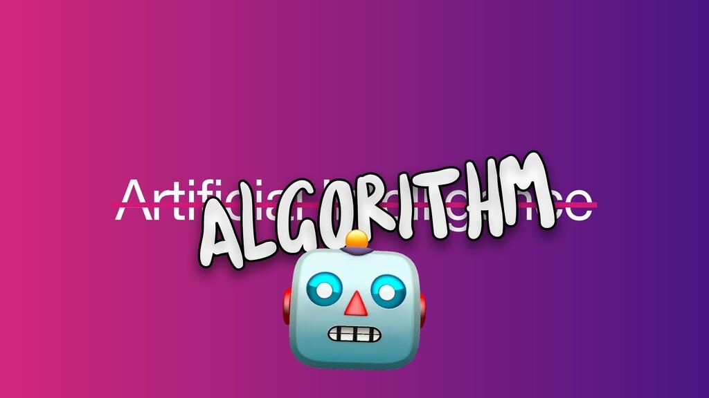 Artificial Intelligence Algorithm