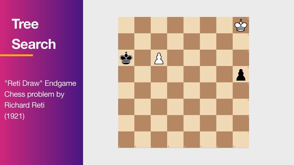 "Tree Search ""Reti Draw"" Endgame   Chess probl..."