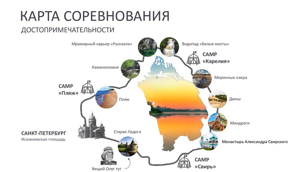КАРТА СОРЕВНОВАНИЯ САНКТ-ПЕТЕРБУРГ Исаакиевская...